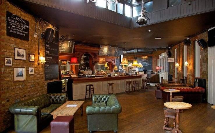Pub interior, Stroud Green London N4