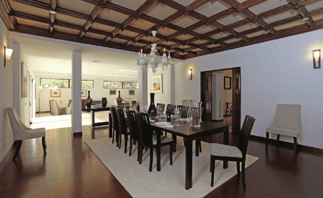 Dining room - N Roxbury Drive, LA