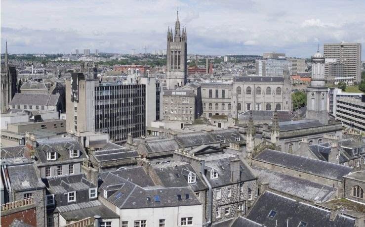 Aberdeen cityscape