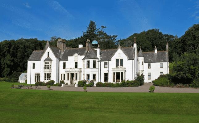 Isle of Gigha Scottish House for Hogmanay