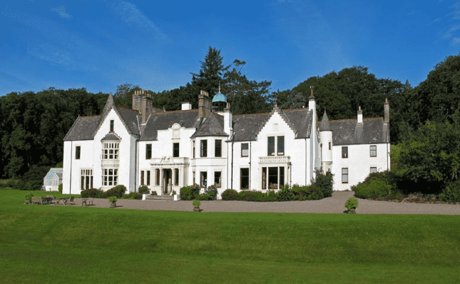 Isle of Gigha Scottish House for Hogmanay