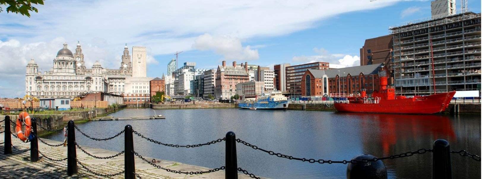 Albert Dock and Liver Building, Liverpool