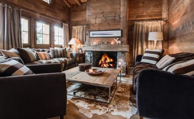 Fireplace, Ba Combe, Verbier