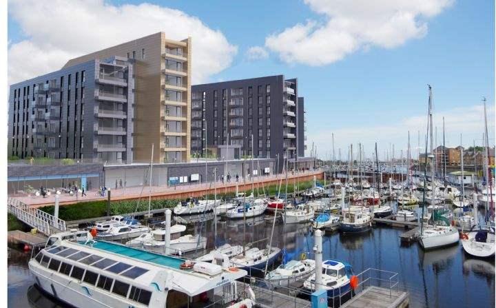 Bayscape, Cardiff Marina, Watkiss Way, Cardiff
