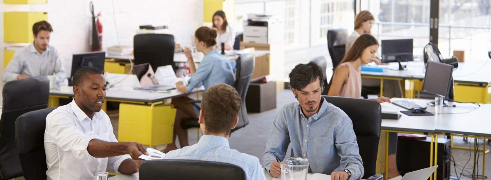 Von der Bürosuche zur Arbeitsplatzsuche