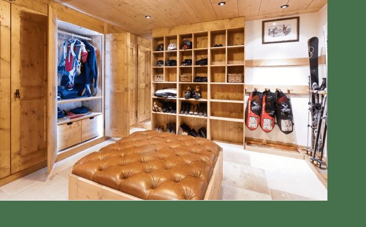 Boot room Chalet Poinsetta