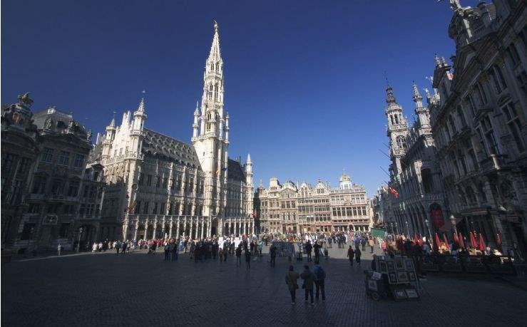 Data centre hotspot: Belgium