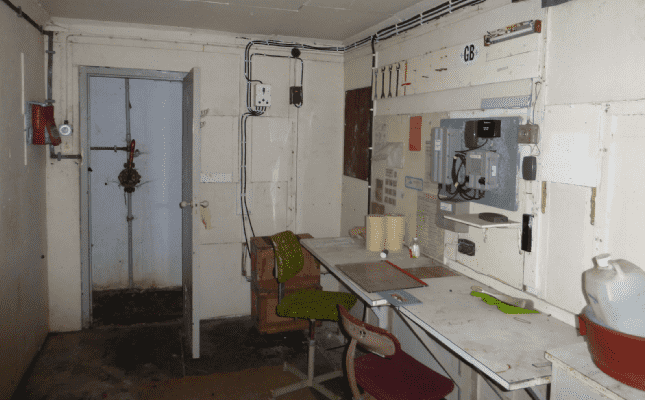 Nuclear bunker interior