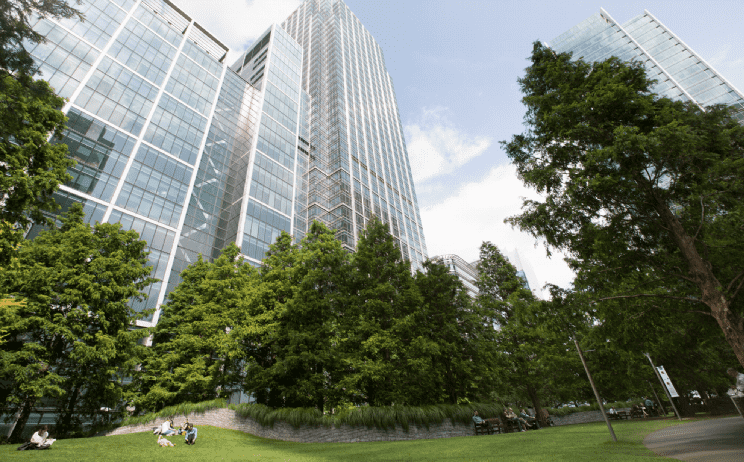 Canary Wharf selling tips