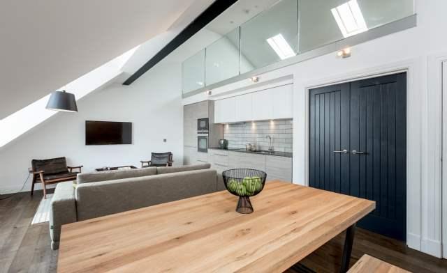 Living area, Castle Street