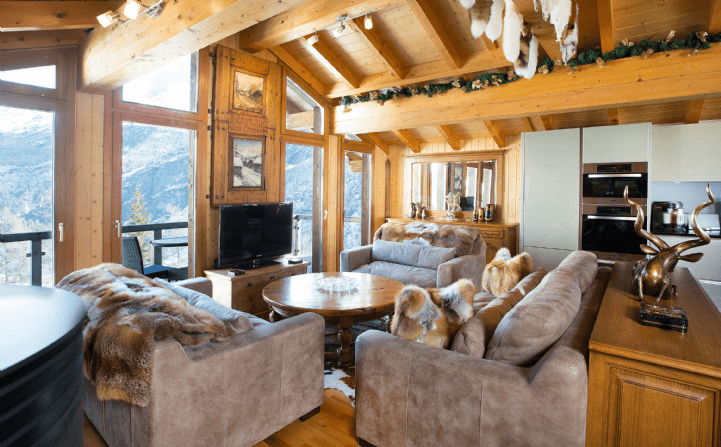 Chalet Stirlin Saas Fee