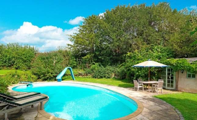 Pool, Cherry Hill House, Cheshire