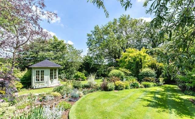 Garden, Cob Cottage, Lincolnshire