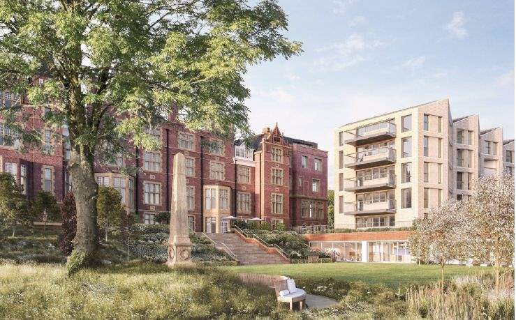 Award-winning retirement development The Vincent, Bristol
