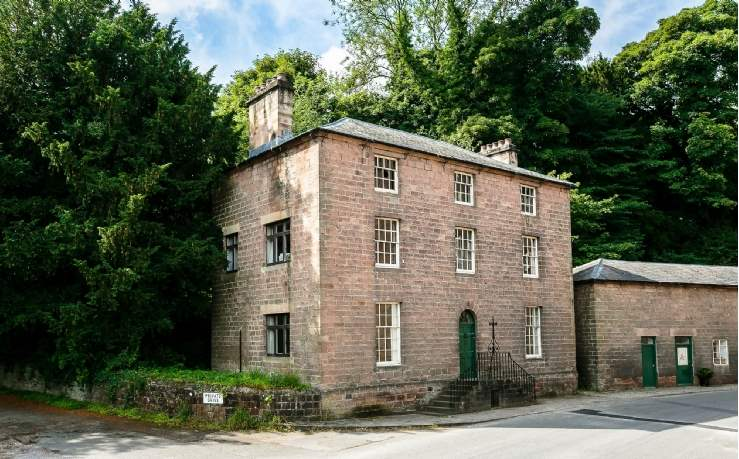 Cromford Mill Managers House, Derbyshire
