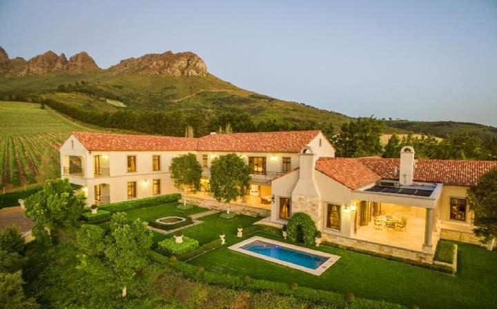 Delavia Estate, Helderberg, Stellenbosch, Western Cape