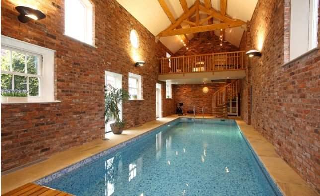 Pool, Eaton Hill House, Cheshire