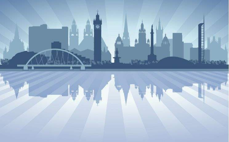 Graphic of Edinburgh skyline