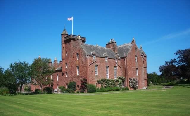 Ethie Castle, Angus