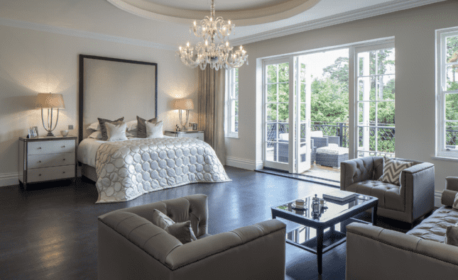 Furze Croft St Georges Hill - Master bedroom