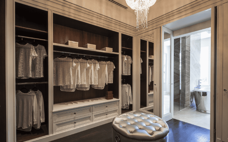 6 of the best dressing rooms