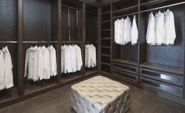 Furze Croft St Georges Hill - Master dressing room