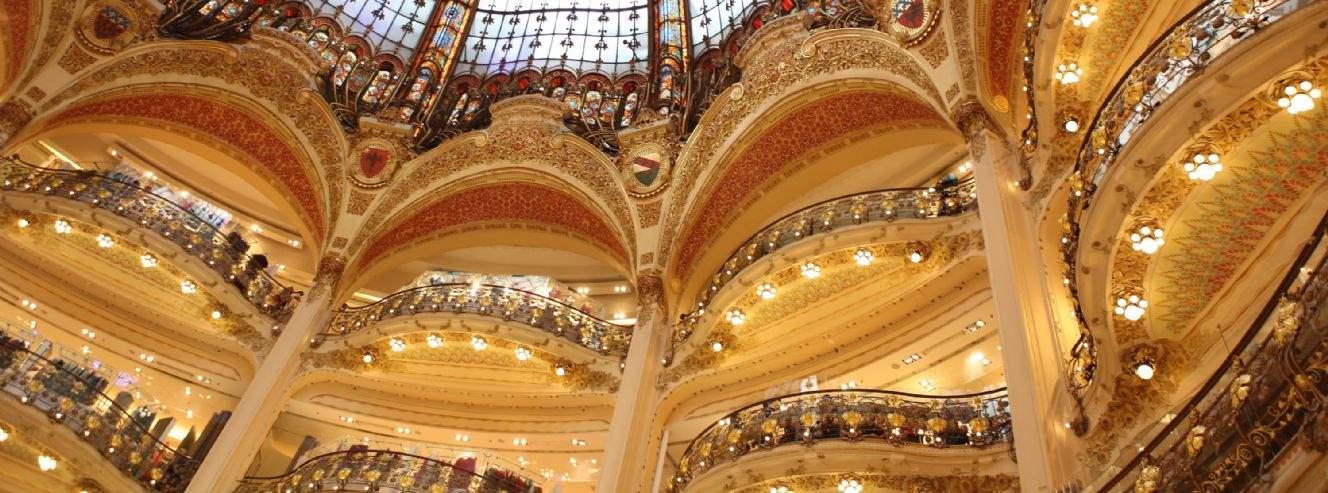 Galleries Lafayette, Paris