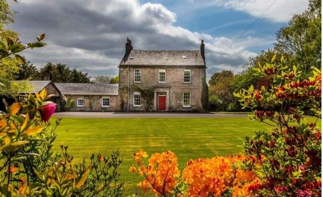 Glebe house, Maybole, Ayrshire
