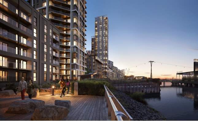 6 of the Best: Greenwich Peninsula, Lindon