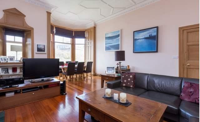 Living area, Grosvenor Gardens, West End