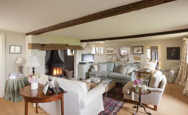 Drawing room, Hallowed Mead, Wiltshire