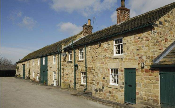 Holiday cottage complex