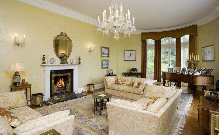 Drawing room, Hollywood House, Glenealy, Co. Wicklow