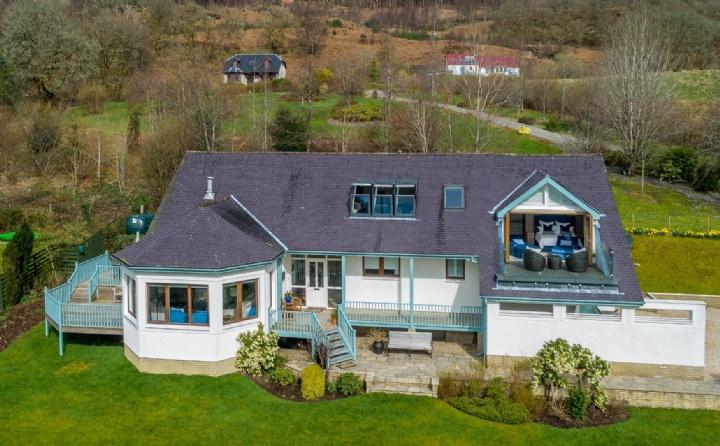 Island View Kinlochard, Stirling