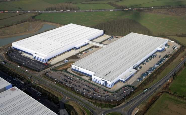 John Lewis warehouse, Milton Keynes