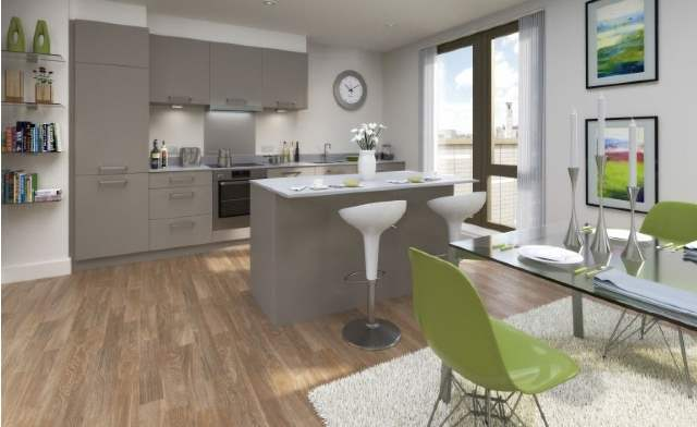 Kitchen, Guildhall Apartments, Southampton