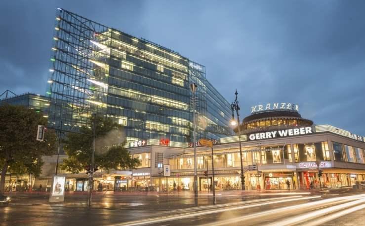 Kranzler Eck Shopping Centre, Berlin