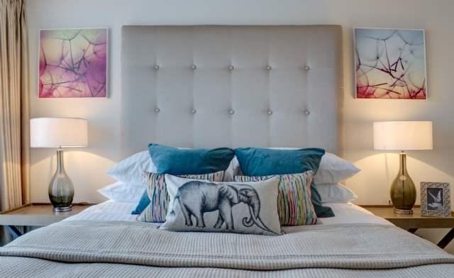 Bedroom, Lansdown Villas, Gloucestershire