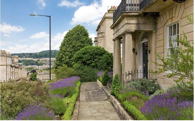 In focus: Georgian properties in Bath
