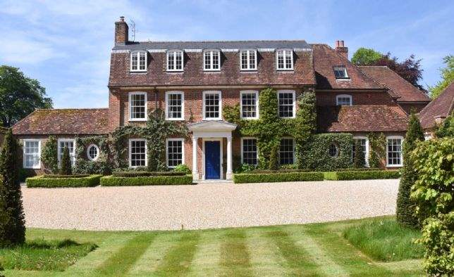 Martyr Worthy Manor, Winchester, Hampshire