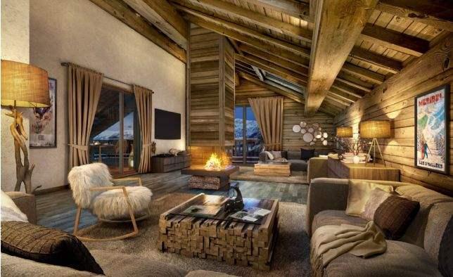 Méribel Village, French Alps