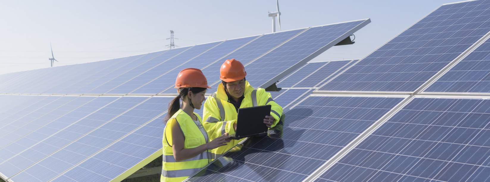 Monitoring solar energy