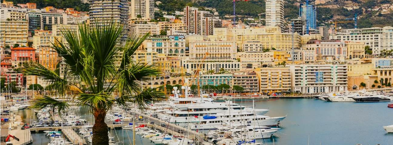 Monaco from the harbour