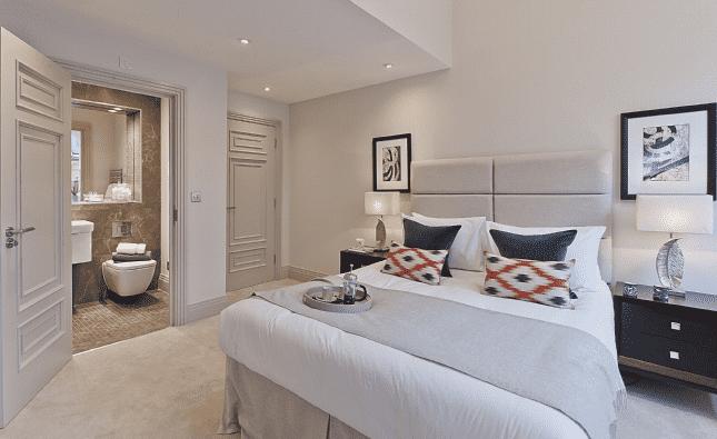 Bedroom, Netherby Park Weybridge, Surrey