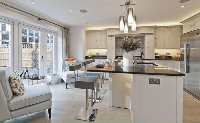 Kitchen, Netherby Park Weybridge, Surrey