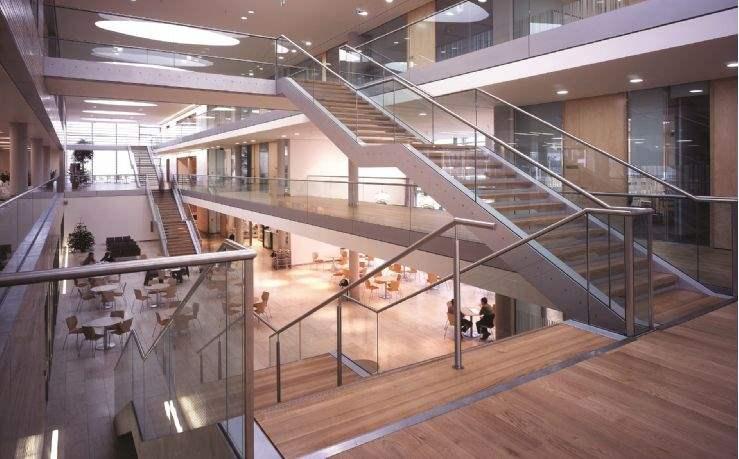 Office atrium