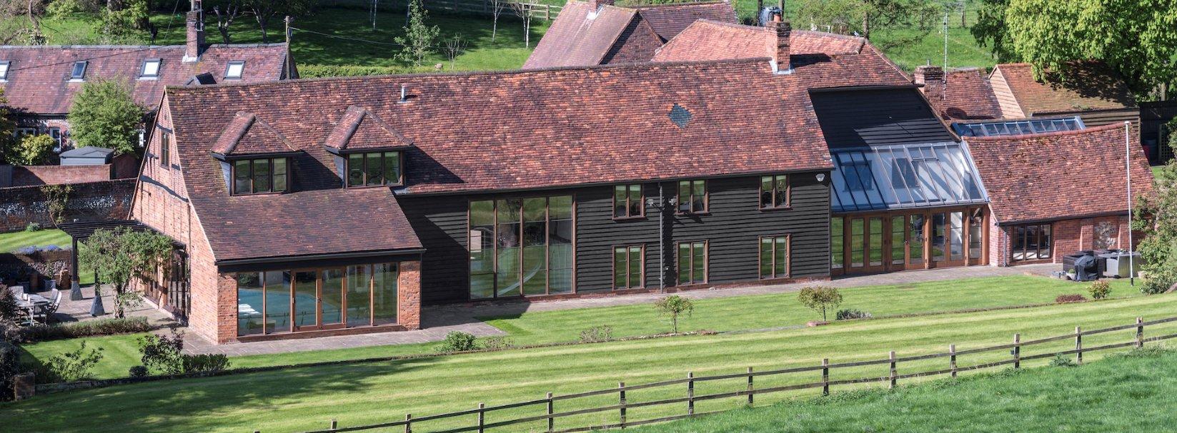Old Tythe Barn, Speen Road, North Dean, High Wycombe, Buckinghamshire