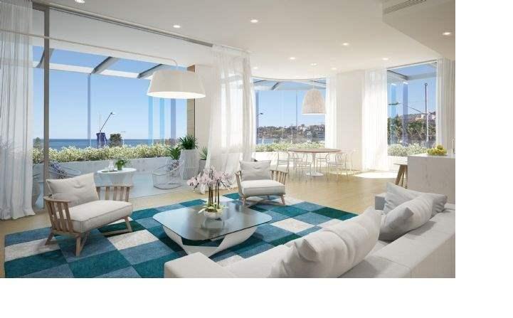 6 of the Best: Pacific Bondi Beach, Australia - Living area
