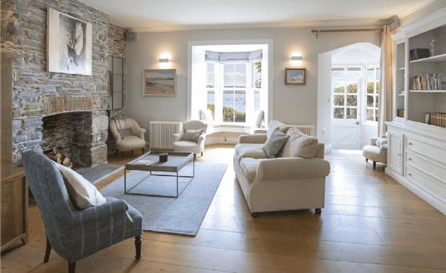 Living room - Penmayne, Rock