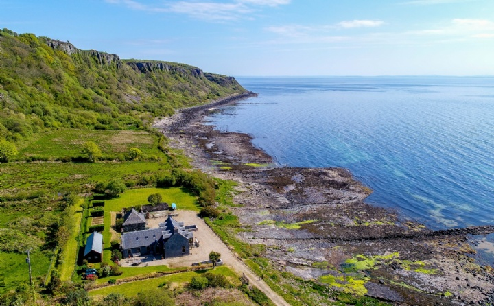 Porta Leacach House, Kildonan, Isle of Arran